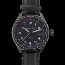 Hamilton Khaki Aviation Acier Noir