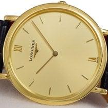 Longines Gold Watch 18K Sapphire, Slim