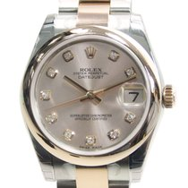 勞力士 Lady Datejust 18k Rose Gold And Steel Pink Automatic...
