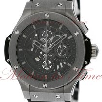 Hublot Tungsten Automatic Transparent No numerals 44.5mm pre-owned Big Bang Aero Bang