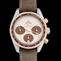 Omega Rose gold Automatic Brown 38mm new Speedmaster