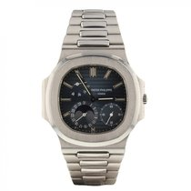 Patek Philippe Nautilus Jumbo Moon Phase 42mm Rare Second...