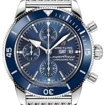 Breitling Superocean Héritage II Chronographe Steel 44mm Blue United States of America, New York, Airmont