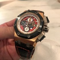 Audemars Piguet Chronograph 46mm Automatic pre-owned Royal Oak Offshore Chronograph Red