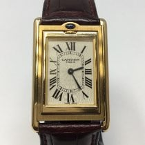 Cartier Tank (submodel) usados 31mm Oro amarillo
