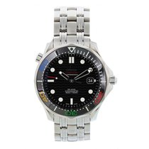 Omega Seamaster Diver 300 M Steel 41mm Black United States of America, New York, New York