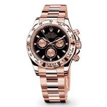 Rolex Daytona Rose gold 40mm Black No numerals UAE, DUBAI (By Appointment 10am-10pm)
