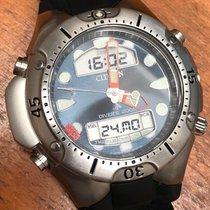 Citizen Promaster usados 43mm Azul Cronógrafo Sonería Fecha Mes Calendario anual Calendario cuatrienal Despertador GMT Caucho