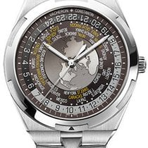 Vacheron Constantin Overseas World Time Steel 43.5mm Brown United States of America, Florida, Sunny Isles Beach