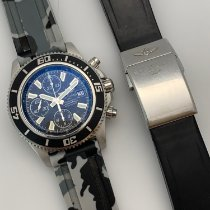 Breitling Superocean Chronograph II pre-owned 44mm Black Chronograph Date Rubber