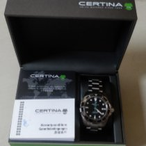 Certina Steel Automatic Black 43mm new DS Action