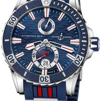 Ulysse Nardin Diver Chronometer new 2019 Automatic Watch with original box and original papers 263-10-3R/93