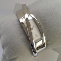 ck Calvin Klein Steel Quartz K2J24101 new