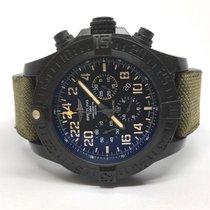 Breitling Avenger Hurricane pre-owned 50mm Black Chronograph Date Textile