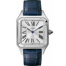 Cartier Santos Dumont Steel 38mm Silver Roman numerals United States of America, New York, New York