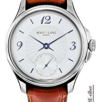 Rolf Lang White gold 41/42mm Manual winding C.ST.SE-silber new