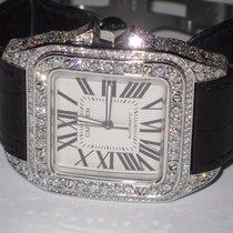Cartier Santos 100 XL Diamonds