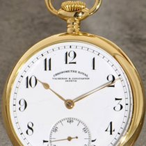 Vacheron Constantin Chronometre Royal 18K gold gloria ray...