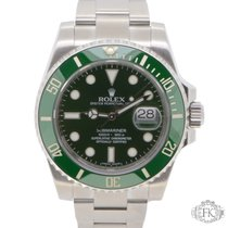 Rolex Submariner Hulk Green Ceramic Bezel and Dial 2014 |...