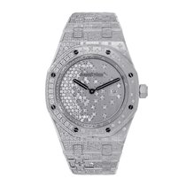 Audemars Piguet Ladies Royal Oak Quartz 33mm White Gold...
