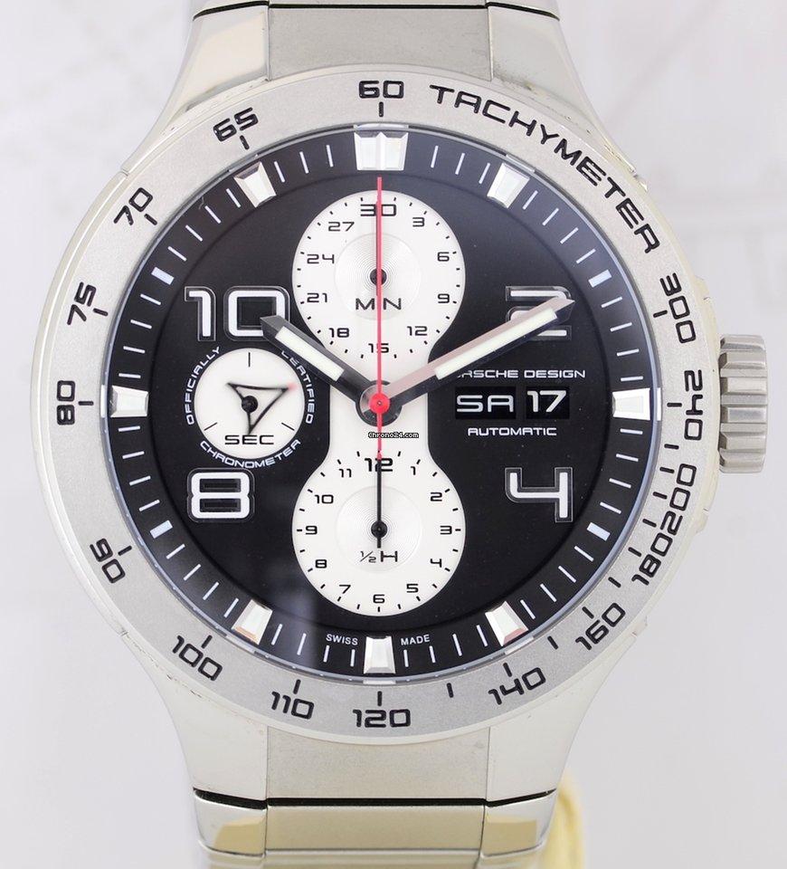 3390ce41308 Porsche Design Flat Six Chronograph P6340 - Compare preços na Chrono24