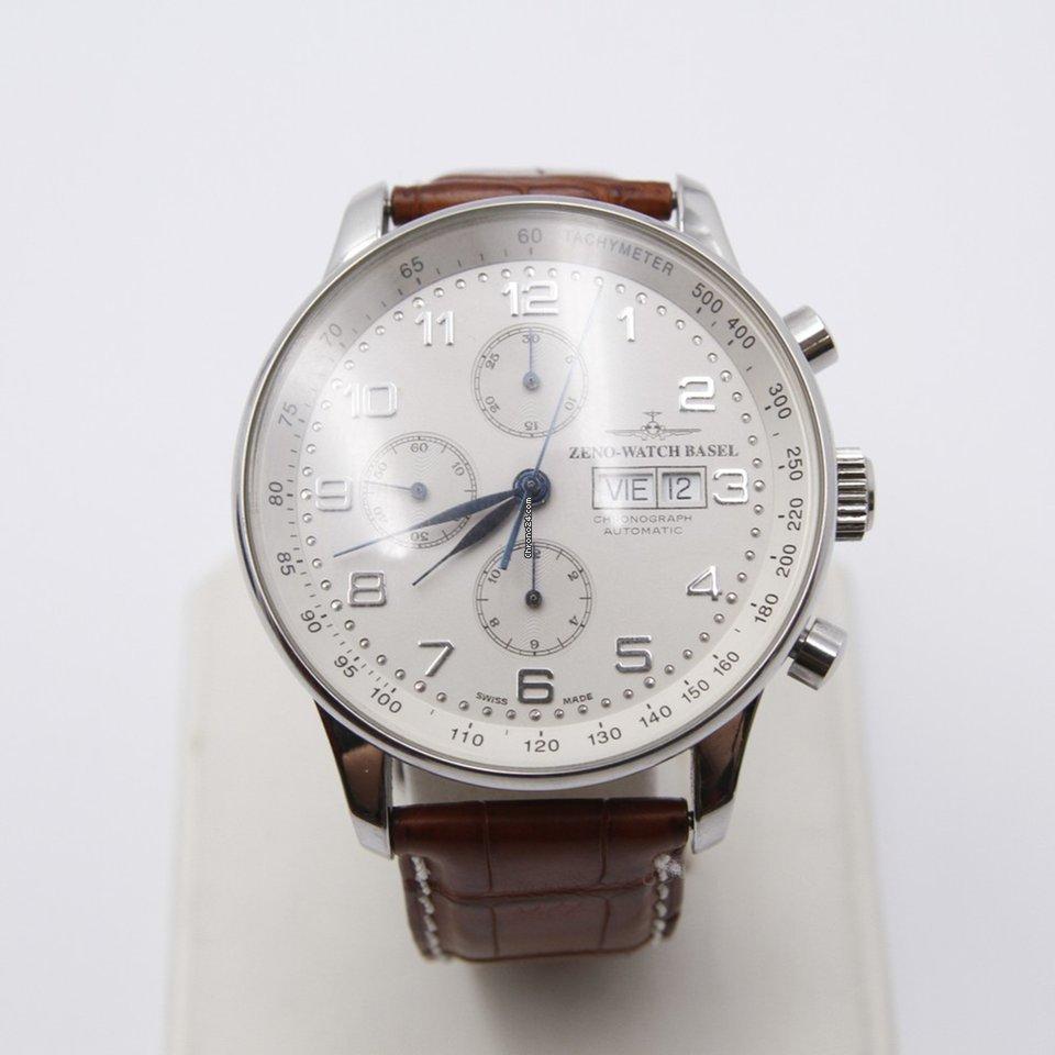 zeno watch basel chronograph automatic f r kaufen von einem trusted seller auf chrono24. Black Bedroom Furniture Sets. Home Design Ideas