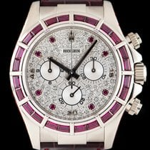 Rolex Daytona Diamond & Ruby Set 116589SALV