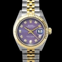 Rolex Lady-Datejust Yellow gold 28mm Purple United States of America, California, San Mateo