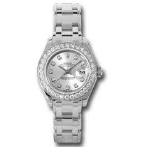 Rolex Lady-Datejust Pearlmaster новые Автоподзавод Часы с оригинальными документами и коробкой 80299 sd