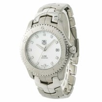 TAG Heuer Link Quartz Steel 39mm Mother of pearl No numerals United States of America, New York, New York