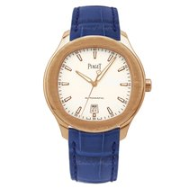 Piaget Rose gold Automatic White 42mm new Polo S
