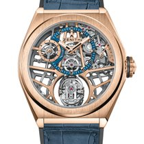 Zenith Rose gold Manual winding Gold 44mm new Defy