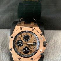 Audemars Piguet Royal Oak Offshore Chronograph Rose gold 42mm Gold Arabic numerals