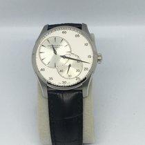 Hamilton Jazzmaster Regulator Steel 42mm White No numerals