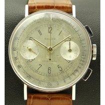 Rolex Chronograph Stahl 33mm Silber Arabisch