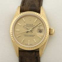 Rolex Lady-Datejust Gult guld 26mm Guld
