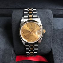 Tudor Gold/Steel Automatic M74033-0009 new