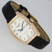 Longines Evidenza Red gold 26mm Silver Arabic numerals