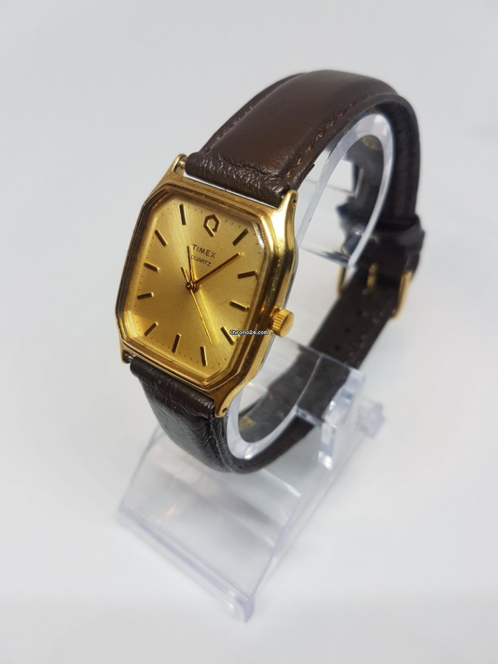 Classic Quartz Timex Watch Tone Gold vO0N8nwm