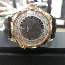 Patek Philippe World Time Rose gold 38.5mm Grey Arabic numerals