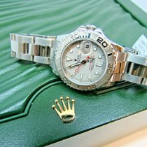 Rolex Yacht-Master Rolex Lady Yacht-Master Stainless Steel w/ Platinum 29mm 2006 pre-owned
