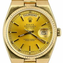 Rolex Day-Date Oysterquartz Or jaune 36mm Or