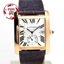 Cartier Tank MC Rose gold 44mm Silver Roman numerals