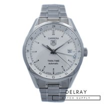 TAG Heuer Carrera Calibre 7 pre-owned 39mm Date GMT