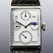 IWC Novecento Platinum 27mm White No numerals