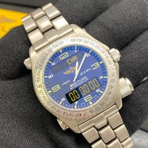 Breitling Emergency Titane 43mm Bleu Arabes France, Paris