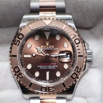 Rolex Yacht-Master 40 Gold/Steel 40mm Brown No numerals United States of America, New Jersey, Oakhurst