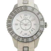 Dior Staal 34mm Quartz CD113112 tweedehands
