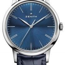 Zenith Elite 6150 Steel 42mm Blue United States of America, New York, Airmont