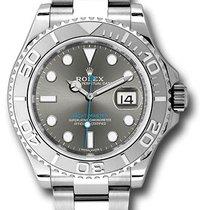 Rolex 116622 Yacht-Master Stainless Steel & Platinum Men's Watch